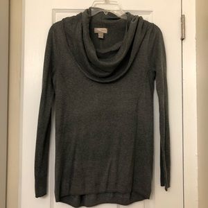 Forever 21 grey cowl neck sweater
